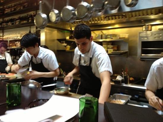 SPQR : open kitchen