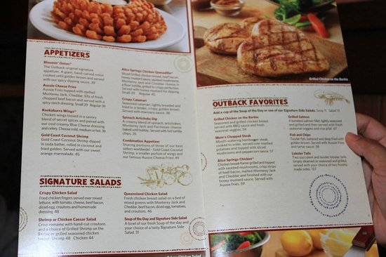 rows· No need to look any further for Outback Steakhouse menu prices! Outback .
