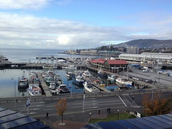 Grand Chancellor Hotel Hobart: view from room on 12th floor