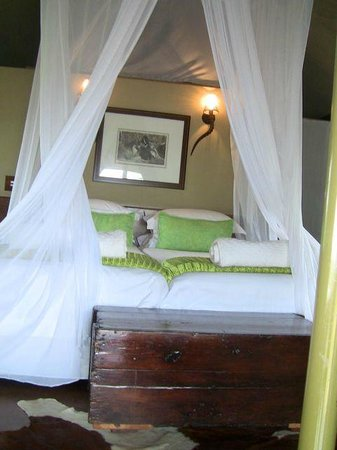 White Elephant Safari Lodge: Chambre