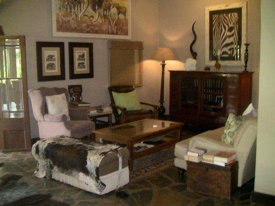 White Elephant Safari Lodge: la réception