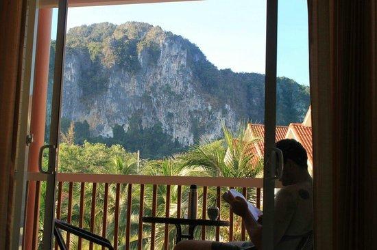 Aonang Regent Hotel: vista desde el balcón
