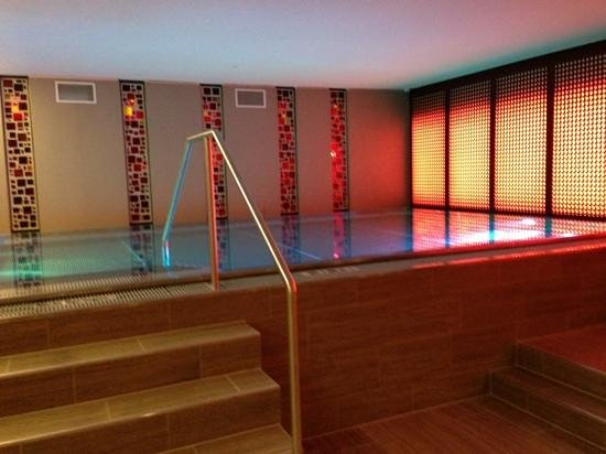 Palais Hansen Kempinski Vienna : Pool (leider kaum 1 Meter tief)