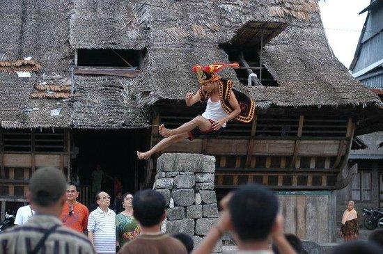 Nias Island, Indonesien: lompat batu