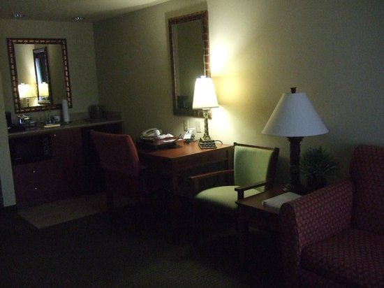 Hampton Inn & Suites Fort Myers-Estero/FGCU: Hotel room, very nice