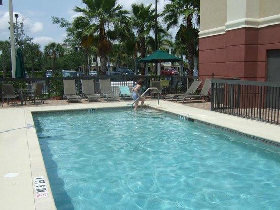 Hampton Inn & Suites Fort Myers-Estero/FGCU : Lovely quiet pool