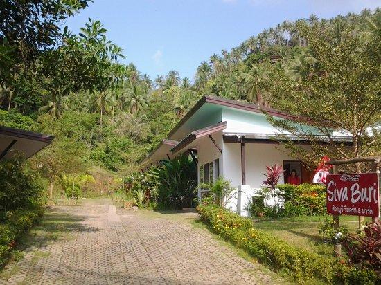 Siva Buri Resort: accueil du Siva Buri