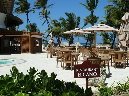 VIK Hotel Cayena Beach: Terasse