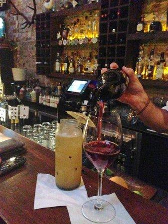 The Foxtrot: Jam jar cocktails