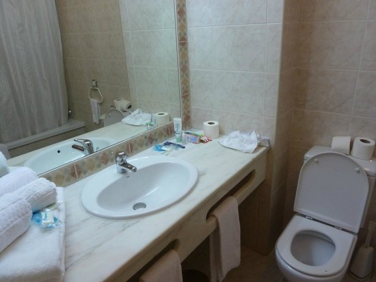 Paladim Aparthotel : Bathroom.