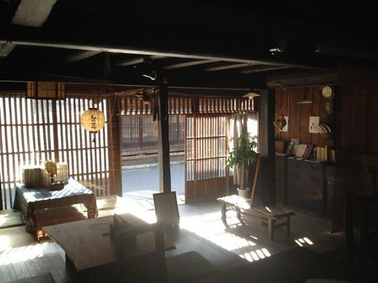 Cafe Minoseya in Tsumagojuku: Cafeみのせや店内