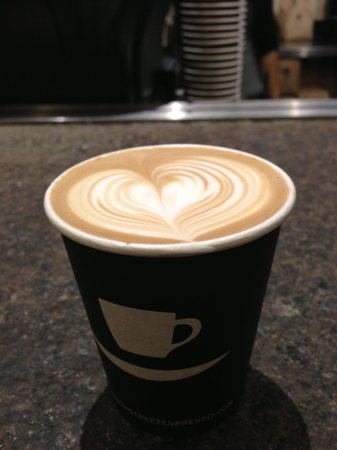 Photo of Cafe Ninth Street Espresso at 700 E 9th St, New York, NY 10009, United States