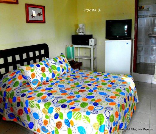 Hotel Maria del Pilar: room 1
