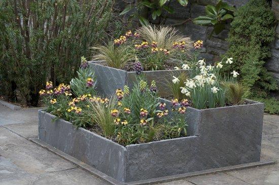 Chanticleer: Garden area