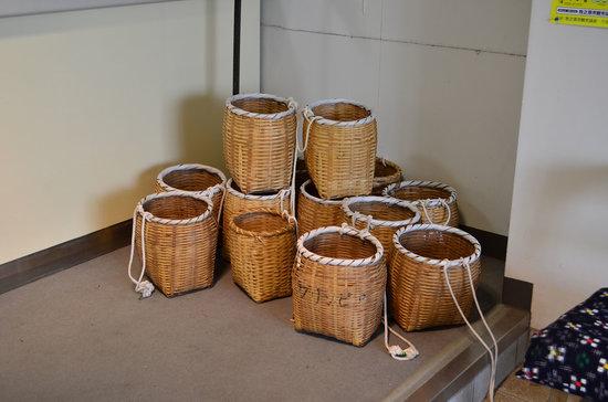 Gurinpia Makinohara: 茶摘につかう籠