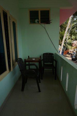 Shirleysbeach Hotel: balcony