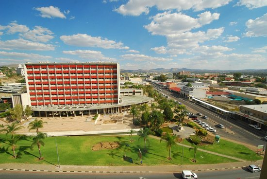 Hilton Windhoek: View from our room
