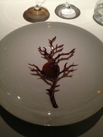 Geranium: prun dessert