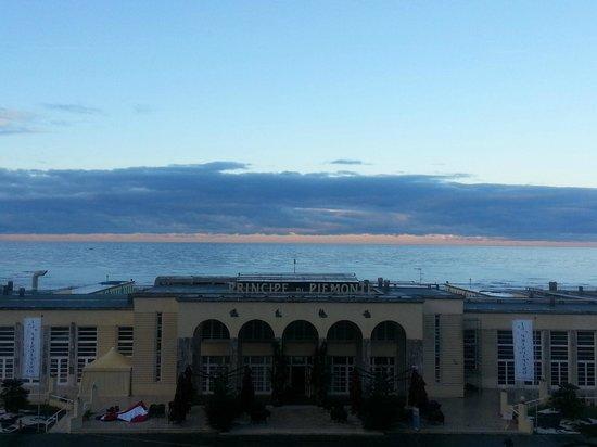 Grand Hotel Principe di Piemonte: Panorama dalla camera