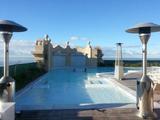 Grand Hotel Principe di Piemonte: piscina riscaldata