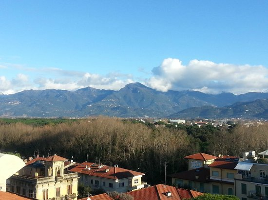 Grand Hotel Principe di Piemonte: Alpi Apuane