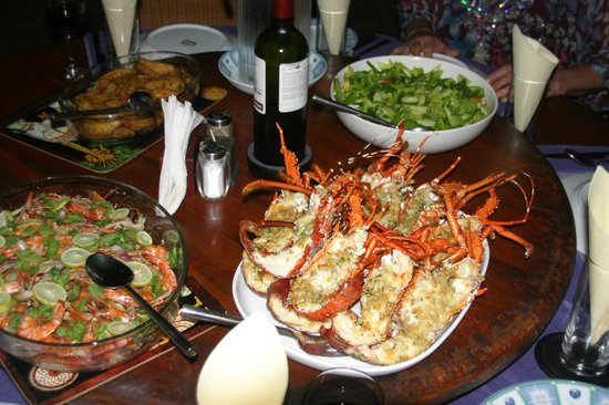 Max Wadiya: A lobster dinner in the pavilion