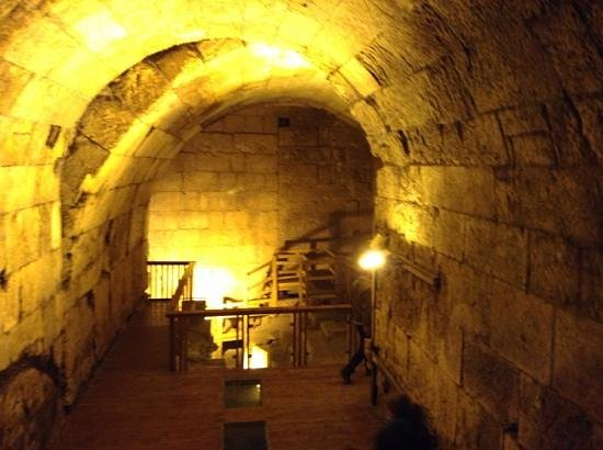 The Western Wall Tunnels: The underground western walls