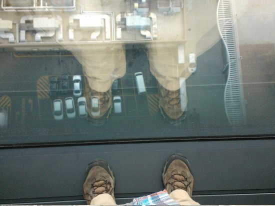 DoubleTree by Hilton Istanbul Avcilar : Don't look down!