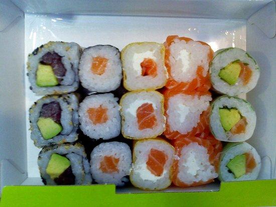 Eat Sushi : Menu makis