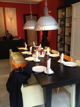 Amistad Hotel: the dinning room