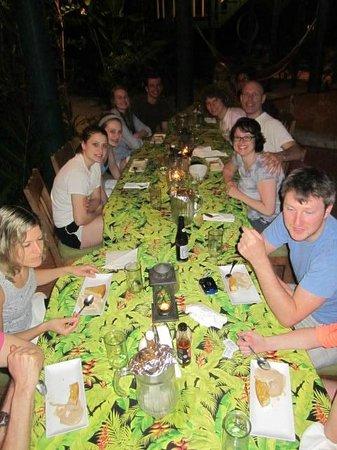 Belize Jungle Dome : Diner at the Jungle Dome