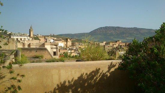 Riad Souafine: Vue de la terrasse