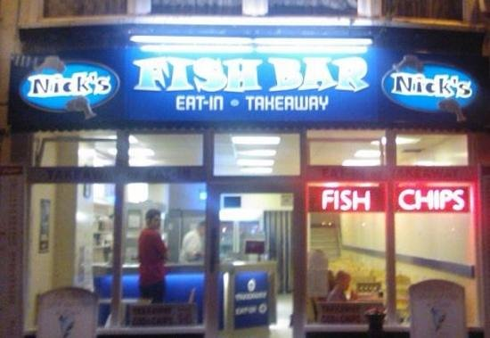 Nick's Fish Bar: the new look