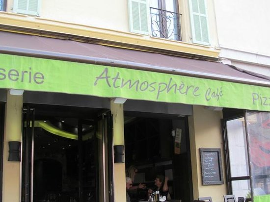 Atmosphere Cafe: Sign