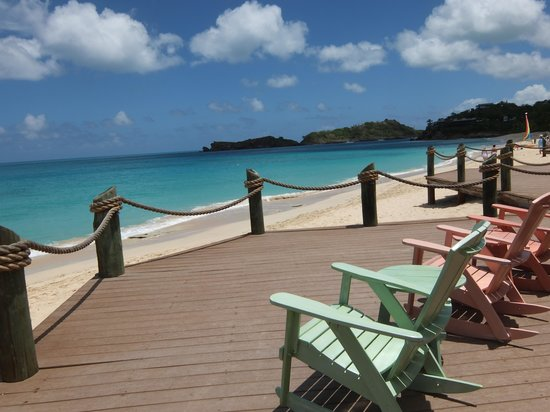 Galley Bay Resort: Verandah