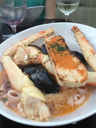 Shore Diner: cioppino - excellent