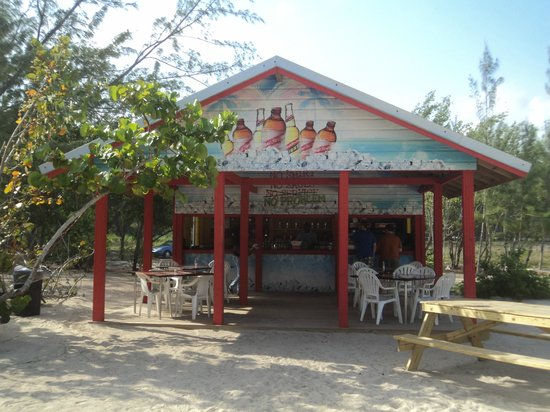 Cruise Shore Excursions Jamaica: Red Stripe Beach - Cafe/Bar