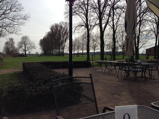 Potsdamer Golfclub: Blick von der Clubterasse