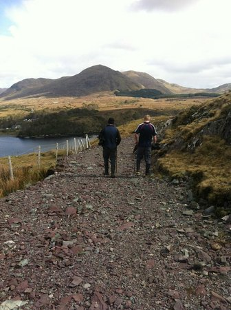 Killary Sheep Farm: on a walk