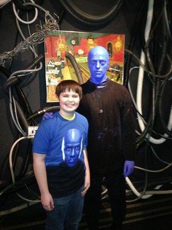 Blue Man Group: Fun show
