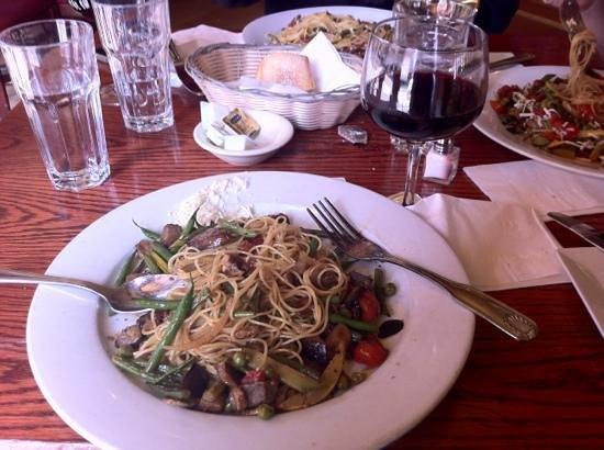 Pietrasanta Restaurant: The Angel Hair pasta
