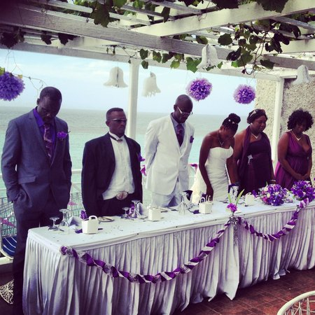 Hibiscus Lodge Hotel: Wedding reception at Hibiscus Lodge