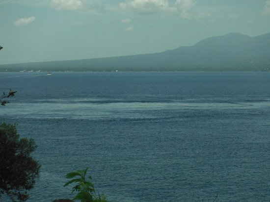 Eden Resort: The view from the balciny