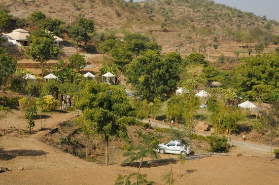 Aravali Silence Lakend Resorts & Adventures Pvt. Ltd.: Open area View