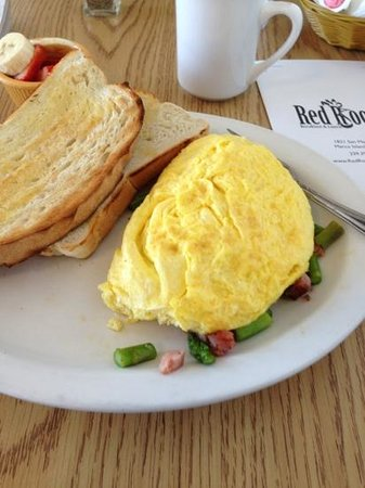 Red Rooster: French omlette with home made bread