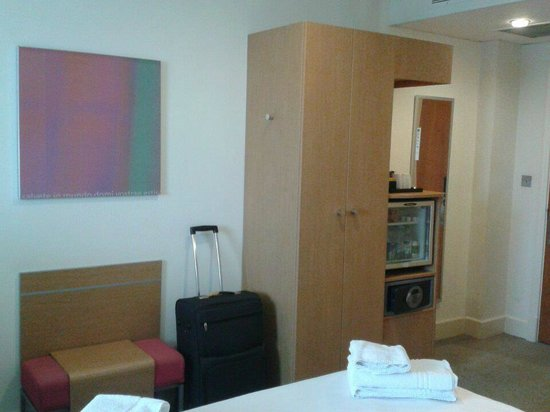 Novotel Cardiff Centre: Room facilities