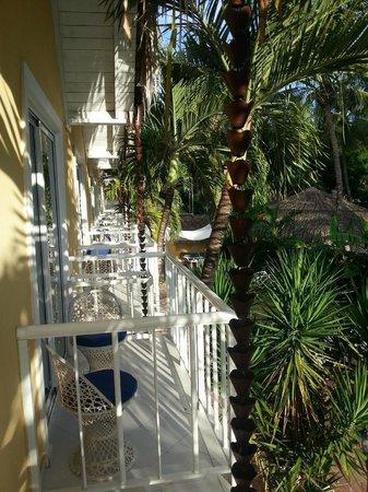 Cabana Elke: Balcony