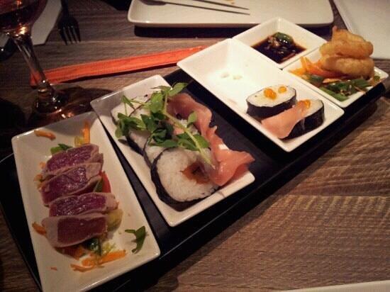 The Wayfarer: sushi platter