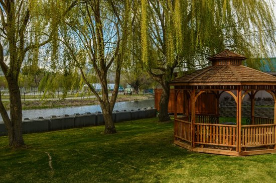 Silver Sage Winery: Beautiful grounds at Silver Sage
