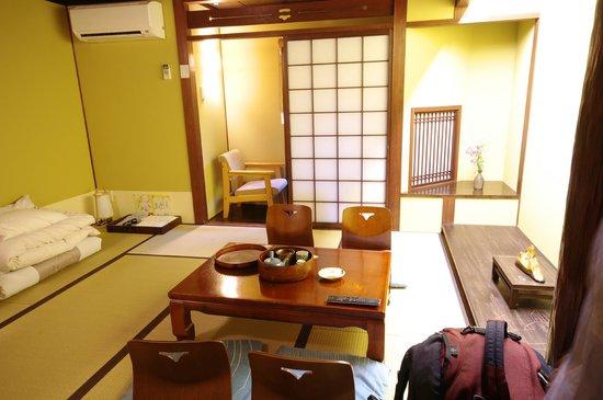Matsubaya Inn: Our room!
